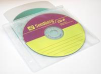 Sandberg CD-pockets Deluxe for 50 CDs