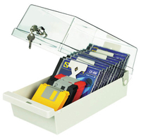 Sandberg Storage Box for 22 CD-ROM