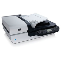 HP Scanjet N6350 Networked Document Flatbed Scanner Scanner piano A4