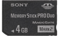 Sony MSMT4GN 4GB MS Pro Duo memoria flash