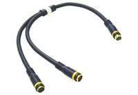 C2G Velocity S-Video Y-Cable Nero Cavo S-video