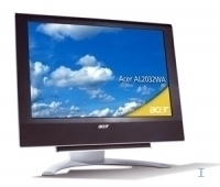 "Acer AL2032WA 20"" Nero monitor piatto per PC"