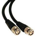 C2G 1m 75Ohm BNC Cable 1m Nero cavo coassiale