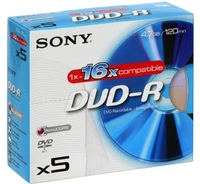 Sony DVD-R 5DMR47AS16 4.7GB