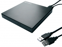 Sandberg USB DVD Mini Reader (black)