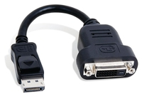 Matrox CAB-DP-DVIF DisplayPort DVI-D Nero cavo di interfaccia e adattatore