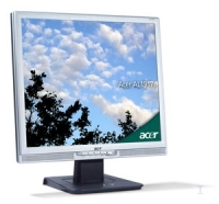 "Acer AL1917s 19"" LCD SILVER 12ms 19"" monitor piatto per PC"