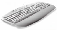 Logitech Internet Pro Keyboard PS/2 QWERTY Bianco tastiera