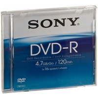 Sony DVD-R DMR47AS16 4.7GB