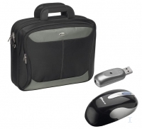 Targus XL Carry Case & Wireless Mouse, Bundle 17""