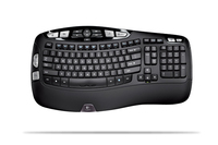 Logitech Wireless Keyboard K350, BE RF Wireless Nero tastiera