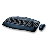 Logitech Cordless Desktop LX 500 RF Wireless QWERTY tastiera