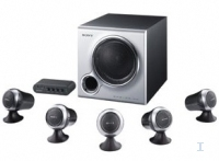 Sony SRS-D5100 5.1ch PC Speaker System 140W Argento altoparlante