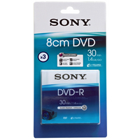 Sony DVD-R 3DMR30A-BT 1.4GB