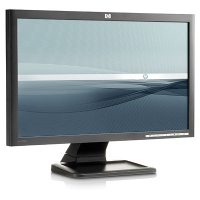 "HP LE2001w 20-inch Widescreen LCD Monitor 20"" Nero monitor piatto per PC"