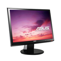 "ASUS VH196S 19"" Nero monitor piatto per PC"