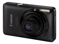 "Canon Digital IXUS 120 IS Fotocamera compatta 12MP 1/2.3"" CCD 4000 x 3000Pixel Nero"