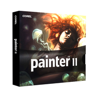 Corel Painter 11, Mac/Win, CD, DE