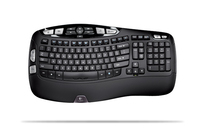 Logitech Wireless Keyboard K350, IT RF Wireless Nero tastiera