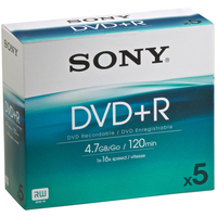 Sony 5DPR120AS16 DVD vergine