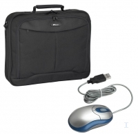 "Targus Notebook Carry Case & Optical Mouse 15.4"" Nero"