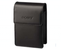 Sony Slim Leather Cyber-shot® Carrying Case Nero