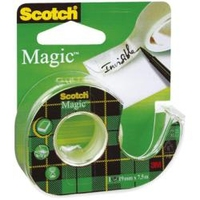 3M Scotch 810 Magic Mini + Dispenser 7.5m Trasparente cancelleria e nastro adesivo per ufficio