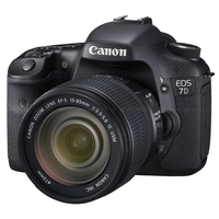 Canon EOS 7D + EF-S 18-135mm Kit fotocamere SLR 18MP CMOS 5184 x 3456Pixel Nero