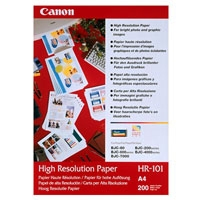 Canon Paper HR-101 (A4, 200 Sheets) Opaco Bianco carta inkjet