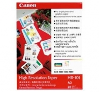 Canon High Resolution Paper HR-101(A3, 20 Sheets) Bianco carta inkjet