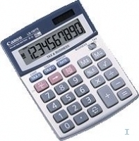 Canon Desk Display Calculators LS-100TS Argento