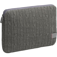 "Case Logic 12"" Netbook Sleeve - Cable Knit 12"" Custodia a tasca Grigio"