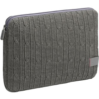 "Case Logic 10.2"" Netbook Sleeve - Cable Knit 10.2"" Custodia a tasca Grigio"