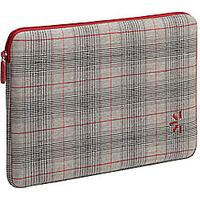"Case Logic 10.2"" Netbook Sleeve - Plaid 10.2"" Custodia a tasca Grigio"