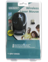 Eminent Wireless Laser Mouse 1600dpi RF Wireless Laser 1600DPI mouse