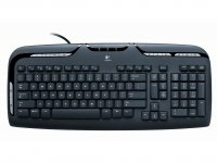 Logitech Media Keyboard PS/2 QWERTY Nero tastiera