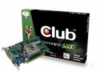 CLUB3D Club 3D GeForce 6600 Passive Cool GDDR