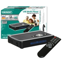 Eminent EM7065 USB Media player Nero lettore multimediale