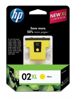 HP 02XL Yellow Giallo cartuccia d