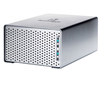 Iomega UltraMax Plus Desktop Hard Drive 4.0TB 4096GB Argento disco rigido esterno