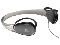 Logitech Sports Headphones for MP3 Crystal Trasparente cuffia