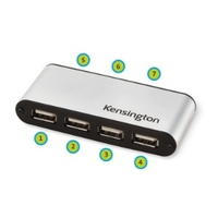 Kensington PocketHub USB a 7 porte