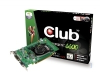 CLUB3D GeForce 6600 256MB Retail GDDR2
