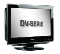 "Toshiba 22DV665DB 22"" HD Nero TV LCD"