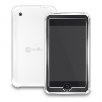 Macally Flex clear case (iPhone 3G/3GS) Bianco