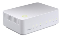 D-Link PowerLine HD 4-port switch No gestito Bianco