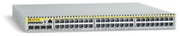 Allied Telesis 48-port 10/100 MultiIayer IPv4/IPv6 Switch Gestito L3 1U Bianco