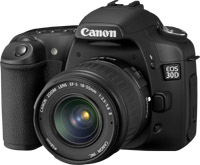 Canon EOS 30D + EF-S 10-22mm Kit fotocamere SLR 8.2MP CMOS Nero
