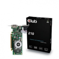 CLUB3D CGNX-212LI GeForce 210 GDDR2 scheda video