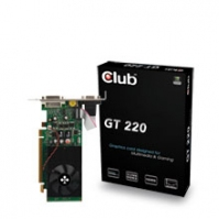 CLUB3D CGNX-G222YLI GeForce GT 220 GDDR2 scheda video